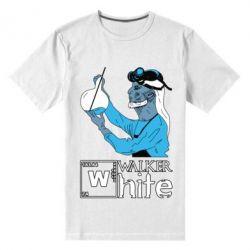 Мужская стрейчевая футболка Walker White