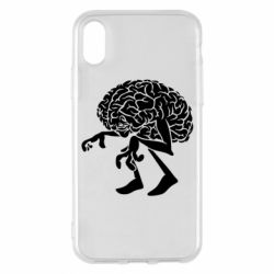 Чехол для iPhone X/Xs Walking Brains