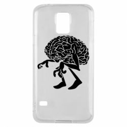 Чехол для Samsung S5 Walking Brains