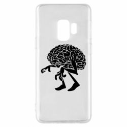 Чехол для Samsung S9 Walking Brains