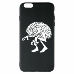 Чехол для iPhone 6 Plus/6S Plus Walking Brains