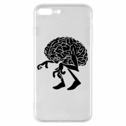 Чехол для iPhone 8 Plus Walking Brains
