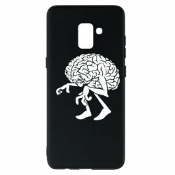 Чехол для Samsung A8+ 2018 Walking Brains