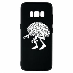 Чехол для Samsung S8 Walking Brains