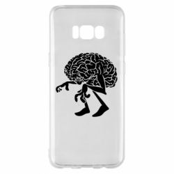 Чехол для Samsung S8+ Walking Brains