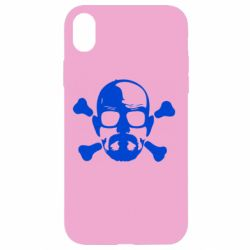 Чохол для iPhone XR walter white і кістки
