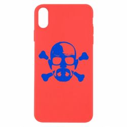 Чохол для iPhone Xs Max walter white і кістки