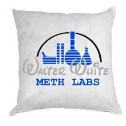 Подушка Walter White Meth Labs