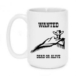 Купить Кружка 420ml Wanted dead or alive, FatLine