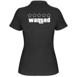 Женская футболка поло Wanted - FatLine