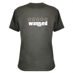 Камуфляжная футболка Wanted - FatLine