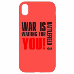 Чехол для iPhone XR War is waiting for you!