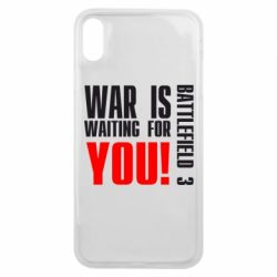 Чехол для iPhone Xs Max War is waiting for you!