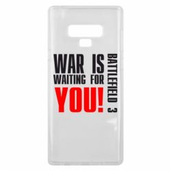 Чехол для Samsung Note 9 War is waiting for you!