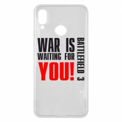 Чехол для Huawei P Smart Plus War is waiting for you! - FatLine
