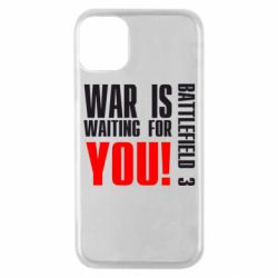 Чехол для iPhone 11 Pro War is waiting for you!