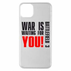 Чехол для iPhone 11 Pro Max War is waiting for you!