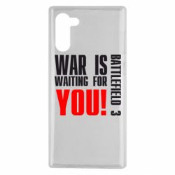 Чехол для Samsung Note 10 War is waiting for you!