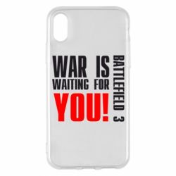 Чехол для iPhone X War is waiting for you! - FatLine