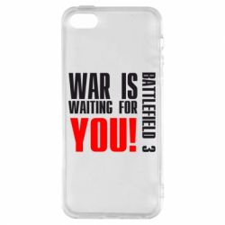 Чехол для iPhone5/5S/SE War is waiting for you! - FatLine