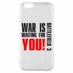 Чехол для iPhone 6/6S War is waiting for you! - FatLine