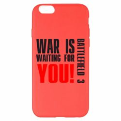 Чехол для iPhone 6 Plus/6S Plus War is waiting for you!
