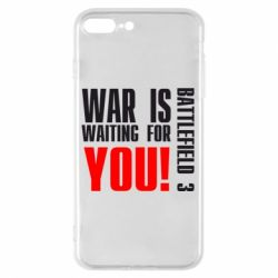Чехол для iPhone 7 Plus War is waiting for you! - FatLine