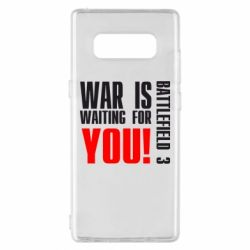 Чехол для Samsung Note 8 War is waiting for you! - FatLine