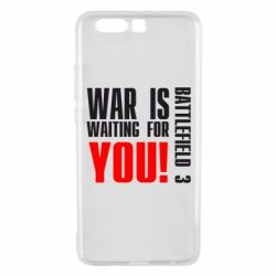 Чехол для Huawei P10 Plus War is waiting for you! - FatLine