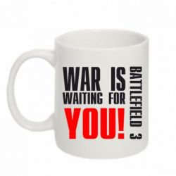 Кружка 320ml War is waiting for you! - FatLine