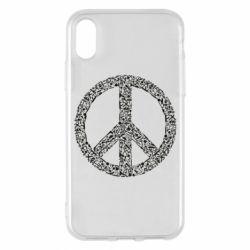 Чохол для iPhone X/Xs War Peace