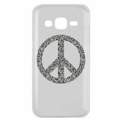 Чохол для Samsung J2 2015 War Peace