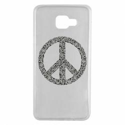 Чохол для Samsung A7 2016 War Peace