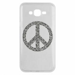 Чохол для Samsung J7 2015 War Peace