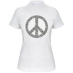 Жіноча футболка поло War Peace