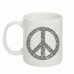 Кружка 320ml War Peace