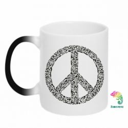 Кружка-хамелеон War Peace