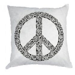 Подушка War Peace