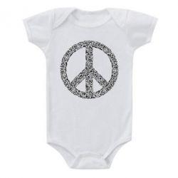 Дитячий бодік War Peace