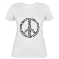 Жіноча футболка War Peace