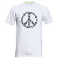 Чоловіча спортивна футболка War Peace