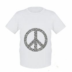 Дитяча футболка War Peace