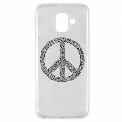 Чохол для Samsung A6 2018 War Peace