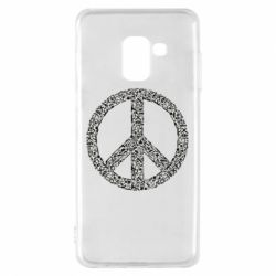 Чохол для Samsung A8 2018 War Peace