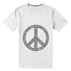 Чоловіча стрейчева футболка War Peace