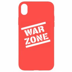 Чохол для iPhone XR War Zone