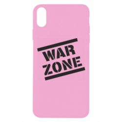 Чохол для iPhone Xs Max War Zone