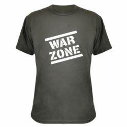 Камуфляжна футболка War Zone