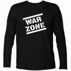 Футболка з довгим рукавом War Zone