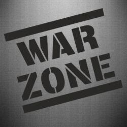 Наклейка War Zone